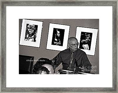 World Renowned Bobby Torres Framed Print