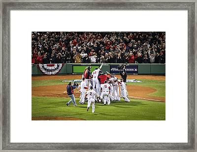 World Series Game Six 5 Framed Print