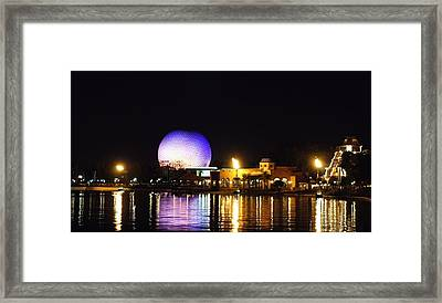 World Showcase 2 Framed Print