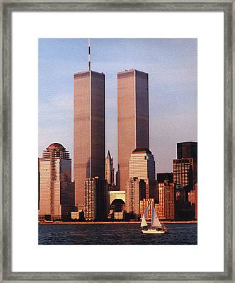 World Trade Center 1999 Framed Print