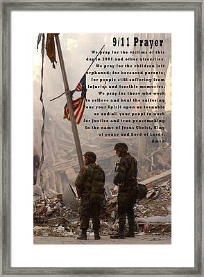 World Trade Center 9 11 Prayer Framed Print