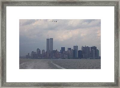 World Trade Center May 2001 Framed Print by Kenneth Cole