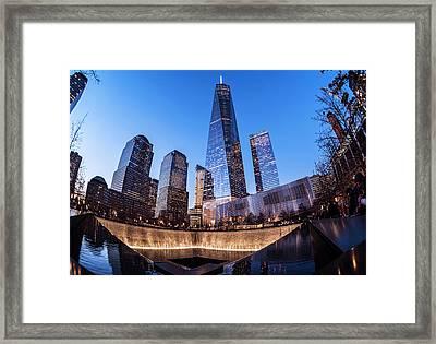 World Trade Center Memorial Framed Print