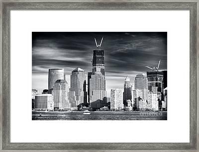 World Trade Center Rebirth Framed Print by John Rizzuto