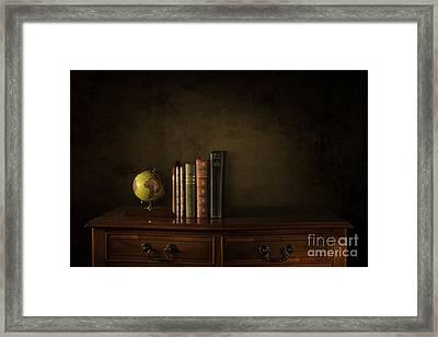 World Traveller Framed Print