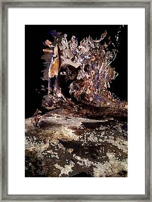 World Turmoil Framed Print
