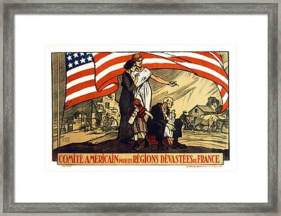 World War 1 Relief - France - 1917 Framed Print by Daniel Hagerman