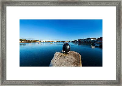 World War 2 Anti-ship Mine, Dungarvan Framed Print by Panoramic Images