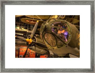 World War 2 Bomber Framed Print