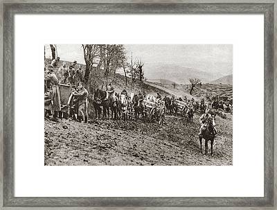 World War I Allied Army Framed Print by Granger