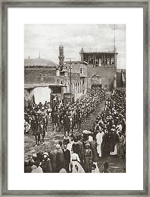 World War I Baghdad, 1917 Framed Print