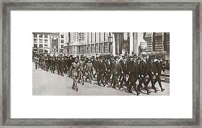 World War I Cadets, C1917 Framed Print by Granger