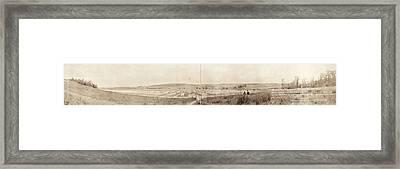 World War I Cemetery, 1919 Framed Print by Granger
