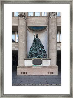 World War I Memorial, Liverpool Framed Print by Panoramic Images