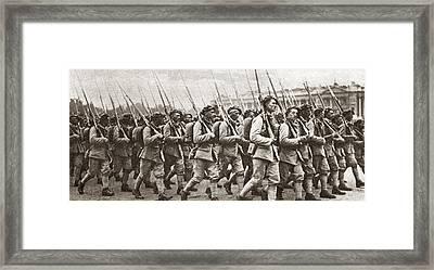World War I Paris, C1917 Framed Print