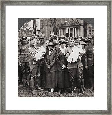 World War I Return, C1918 Framed Print by Granger