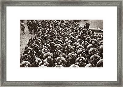 World War I Return Home Framed Print by Granger