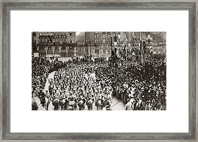 World War I Strasbourg Framed Print