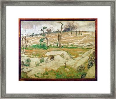 World War I, The Somme Framed Print