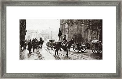 World War I Treves, C1918 Framed Print