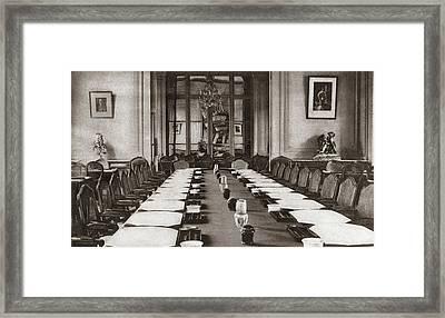 World War I Trianon Hotel Framed Print by Granger