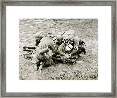 World War II (1939-1945 Framed Print by Prisma Archivo