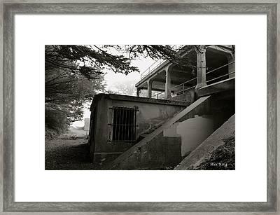 World War II Bunker Framed Print by Alex King