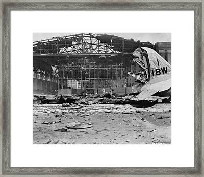 World War II Hickam Field Framed Print