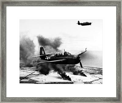 World War II: Marianas Framed Print by Granger