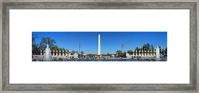 World War II Memorial Framed Print by Olivier Le Queinec