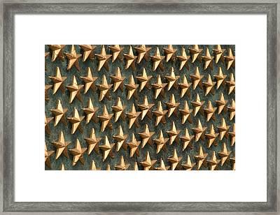 World War II Memorial - Washington Dc - 011320 Framed Print by DC Photographer