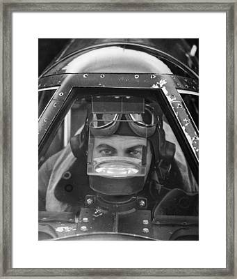 World War II: P-57 Mustang Framed Print by Granger
