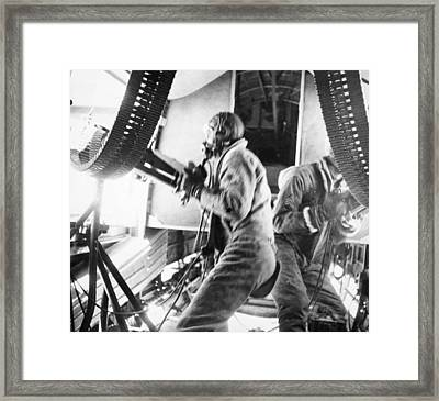 World War II: U.s. Plane Framed Print by Granger