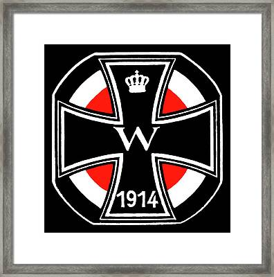 World War One Iron Cross Framed Print by Historic Image