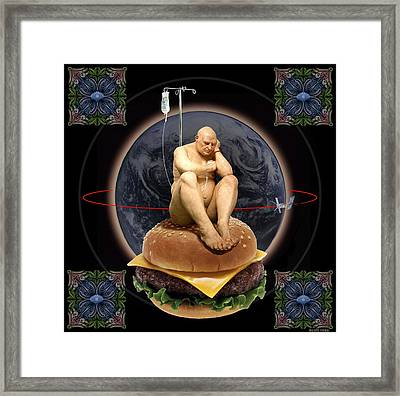 World Wide Framed Print