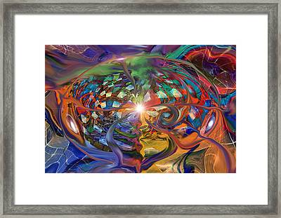 World Within A World Framed Print