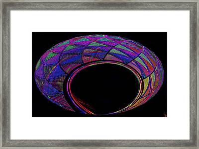 Hopi Basket Of Secrets Framed Print
