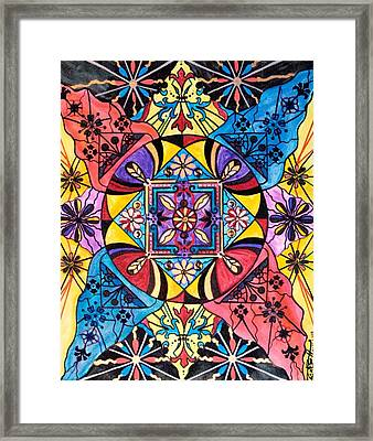 Worldly Abundance Framed Print
