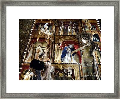 Worldly Women Framed Print by Ed Weidman