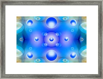 Worlds Collide 1 Framed Print