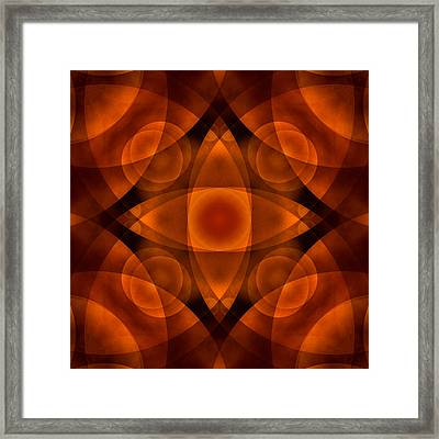 Worlds Collide 15 Framed Print