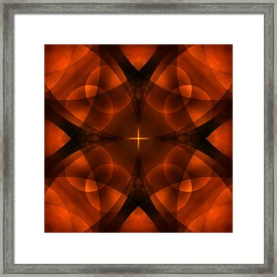 Worlds Collide 16 Framed Print by Mike McGlothlen