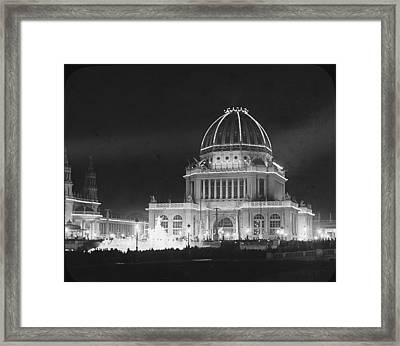 Worlds Columbian Exposition Administration Building Chicago 1893 Framed Print by Historic Photos