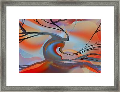 World's End Tree Framed Print