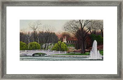 World's Fair Pavilion Framed Print
