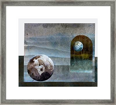 Worlds In Worlds In Worlds Framed Print