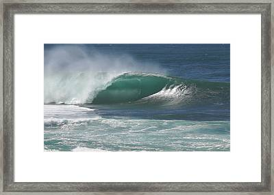 World's Most Perfect Wave . . . Framed Print by Kevin Smith