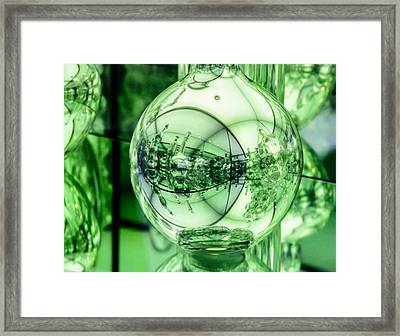 Worlds Within Worlds Framed Print