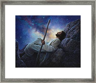 Worlds Without End Framed Print by Greg Olsen