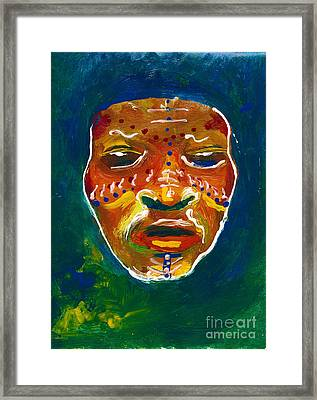 Worldwide Tribal Collection 1 Framed Print